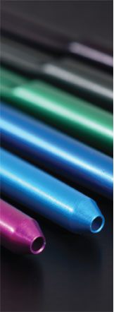 Accurate Metal Finishing specializes in titanium anodizing